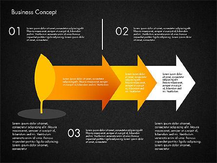 Growth Process Concept Diagram, Slide 15, 03323, Process Diagrams — PoweredTemplate.com
