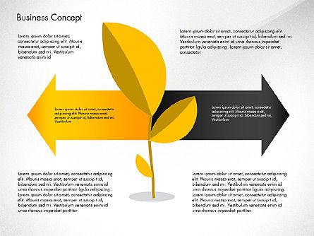 Growth Process Concept Diagram, Slide 2, 03323, Process Diagrams — PoweredTemplate.com