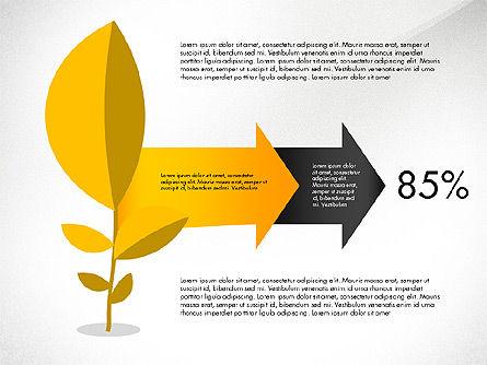 Growth Process Concept Diagram, Slide 4, 03323, Process Diagrams — PoweredTemplate.com