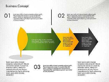 Growth Process Concept Diagram, Slide 7, 03323, Process Diagrams — PoweredTemplate.com