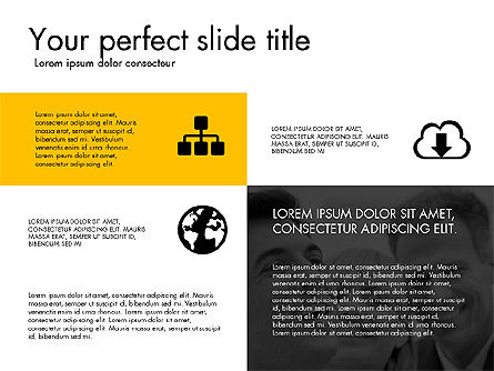 Presentation Templates: Grid Layout Design Presentation Concept #03325