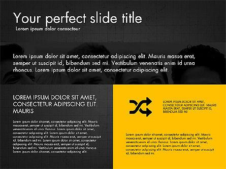 Grid Layout Design Presentation Concept, Slide 15, 03325, Presentation Templates — PoweredTemplate.com