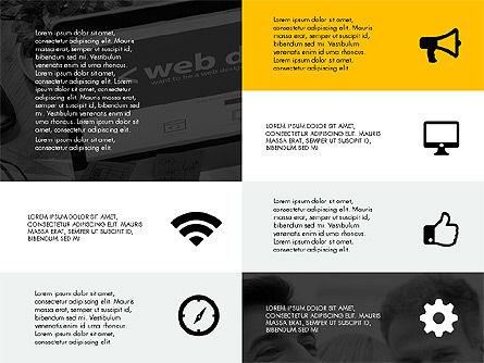 Grid Layout Design Presentation Concept, Slide 2, 03325, Presentation Templates — PoweredTemplate.com