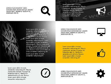 Grid Layout Design Presentation Concept, Slide 4, 03325, Presentation Templates — PoweredTemplate.com