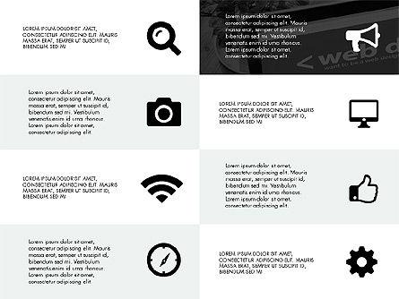 Grid Layout Design Presentation Concept, Slide 5, 03325, Presentation Templates — PoweredTemplate.com