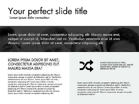 Grid Layout Design Presentation Concept, Slide 7, 03325, Presentation Templates — PoweredTemplate.com