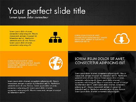 Grid Layout Design Presentation Concept, Slide 9, 03325, Presentation Templates — PoweredTemplate.com