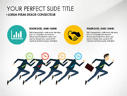 Presentation Templates: Working Business Creative Concept #03326
