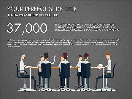 Working Business Creative Concept, Slide 10, 03326, Presentation Templates — PoweredTemplate.com