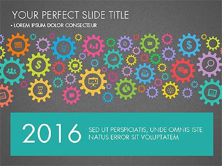 Working Business Creative Concept, Slide 11, 03326, Presentation Templates — PoweredTemplate.com