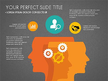 Working Business Creative Concept, Slide 14, 03326, Presentation Templates — PoweredTemplate.com