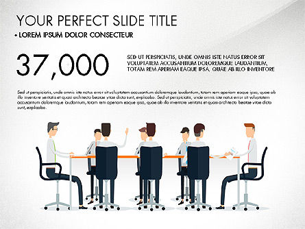 Working Business Creative Concept, Slide 2, 03326, Presentation Templates — PoweredTemplate.com