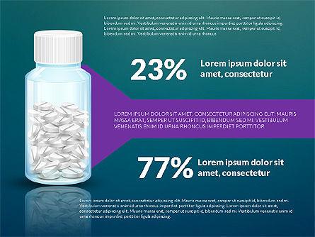 Jar of Pills Infographics, Slide 11, 03327, Stage Diagrams — PoweredTemplate.com