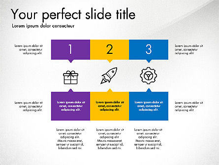Creative Presentation in Flat Design Style Slide 4
