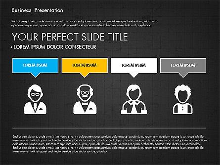 Company Profile Presentation in Flat Design, Slide 10, 03330, Presentation Templates — PoweredTemplate.com