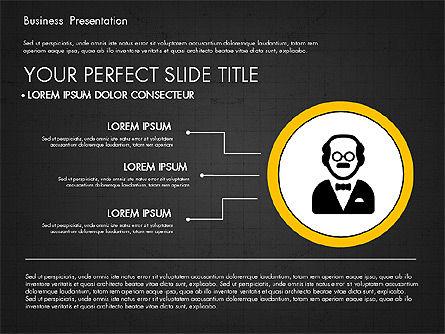 Company Profile Presentation in Flat Design, Slide 12, 03330, Presentation Templates — PoweredTemplate.com