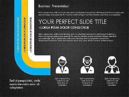 Company Profile Presentation in Flat Design, Slide 13, 03330, Presentation Templates — PoweredTemplate.com