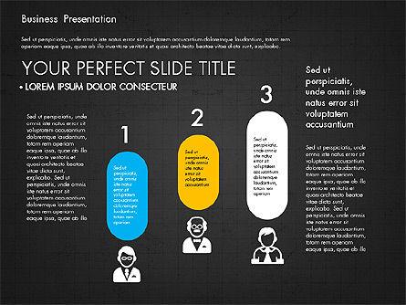 Company Profile Presentation in Flat Design, Slide 14, 03330, Presentation Templates — PoweredTemplate.com