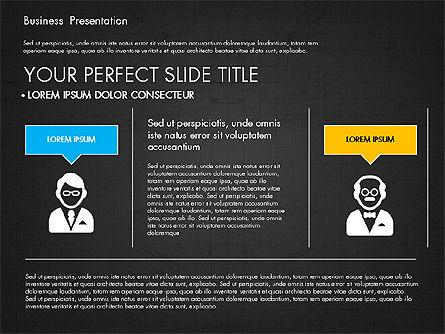 Company Profile Presentation in Flat Design, Slide 15, 03330, Presentation Templates — PoweredTemplate.com