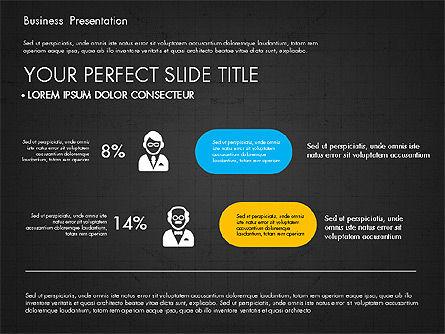 Company Profile Presentation in Flat Design, Slide 16, 03330, Presentation Templates — PoweredTemplate.com