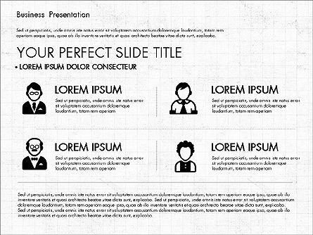 Company Profile Presentation in Flat Design, Slide 3, 03330, Presentation Templates — PoweredTemplate.com