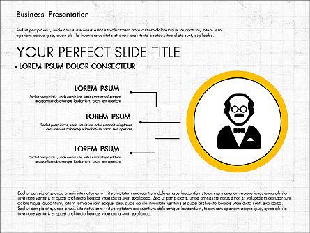 Company Profile Presentation in Flat Design, Slide 4, 03330, Presentation Templates — PoweredTemplate.com
