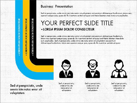 Company Profile Presentation in Flat Design, Slide 5, 03330, Presentation Templates — PoweredTemplate.com