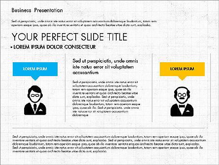 Company Profile Presentation in Flat Design, Slide 7, 03330, Presentation Templates — PoweredTemplate.com
