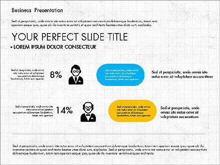 Company Profile Presentation in Flat Design, Slide 8, 03330, Presentation Templates — PoweredTemplate.com