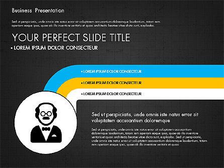 Company Profile Presentation in Flat Design, Slide 9, 03330, Presentation Templates — PoweredTemplate.com