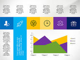Grid Layout with Icons Presentation in Flat Design#7