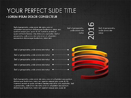 Presentation with 3D Shapes Toolbox, Slide 10, 03334, Shapes — PoweredTemplate.com