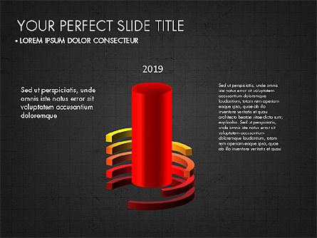 Presentation with 3D Shapes Toolbox, Slide 15, 03334, Shapes — PoweredTemplate.com
