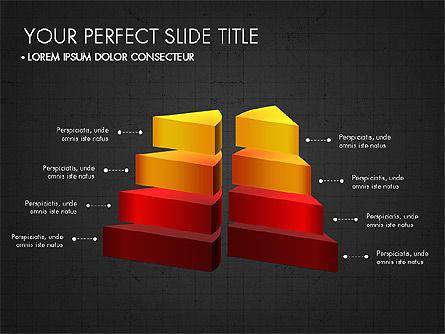 Presentation with 3D Shapes Toolbox, Slide 16, 03334, Shapes — PoweredTemplate.com