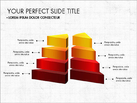 Presentation with 3D Shapes Toolbox, Slide 8, 03334, Shapes — PoweredTemplate.com