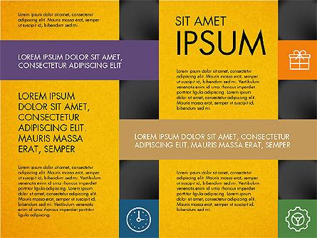 Grid Designed Presentation Concept, Slide 9, 03335, Presentation Templates — PoweredTemplate.com