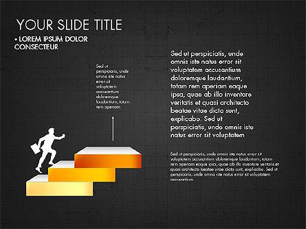 Steps Success Winner, Slide 10, 03336, Stage Diagrams — PoweredTemplate.com