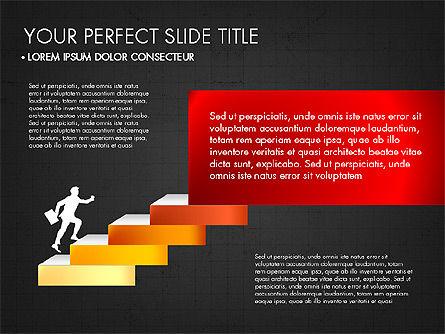 Steps Success Winner, Slide 11, 03336, Stage Diagrams — PoweredTemplate.com
