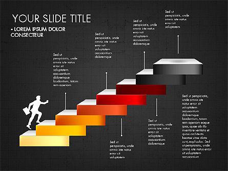 Steps Success Winner, Slide 12, 03336, Stage Diagrams — PoweredTemplate.com