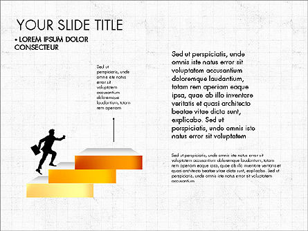 Steps Success Winner, Slide 2, 03336, Stage Diagrams — PoweredTemplate.com