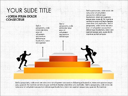 Steps Success Winner, Slide 7, 03336, Stage Diagrams — PoweredTemplate.com