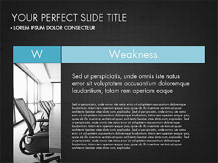 SWOT Analysis Presentation Concept, Slide 12, 03337, Business Models — PoweredTemplate.com
