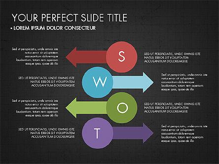 SWOT Analysis Presentation Concept, Slide 13, 03337, Business Models — PoweredTemplate.com