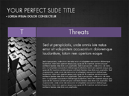 SWOT Analysis Presentation Concept, Slide 16, 03337, Business Models — PoweredTemplate.com