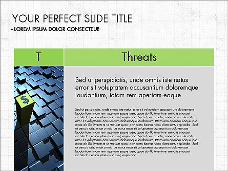 SWOT Analysis Presentation Concept, Slide 8, 03337, Business Models — PoweredTemplate.com