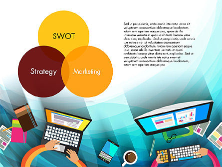 Strategy Presentation Concept, Slide 12, 03340, Business Models — PoweredTemplate.com