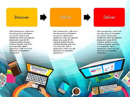 Strategy Presentation Concept, Slide 13, 03340, Business Models — PoweredTemplate.com