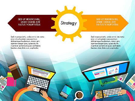 Strategy Presentation Concept, Slide 14, 03340, Business Models — PoweredTemplate.com