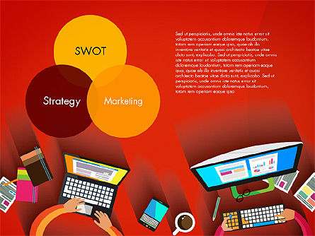 Strategy Presentation Concept, Slide 4, 03340, Business Models — PoweredTemplate.com