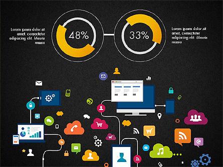 Data Driven Report with Timeline, Slide 10, 03342, Presentation Templates — PoweredTemplate.com